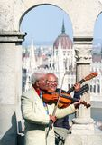 Passeio em torno das emoções de Budapest dos povos imagens de stock
