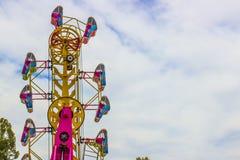 Passeio ereto na feira de condado local Fotografia de Stock Royalty Free