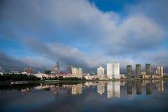 Passeio Hulunbeier Manzhouli da avenida do século foto de stock