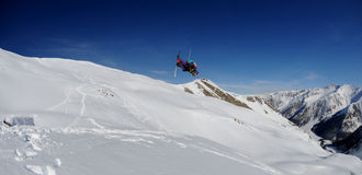 Passeio livre em alpes de France Foto de Stock Royalty Free