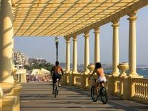Passeio Maritimo,福兹在葡萄牙做杜罗河 免版税库存照片