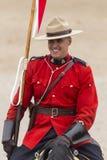 Passeio musical em Ancaster, Ontário de RCMP Imagens de Stock Royalty Free