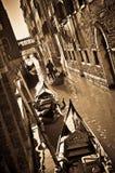 Passeio na gôndola em Veneza foto de stock royalty free