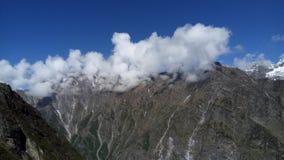 Passeio na montanha de Himkund Sahib Imagem de Stock Royalty Free