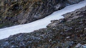 Passeio na montanha de Himkunt Sahib Foto de Stock