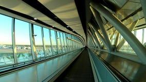 Passeio no aeroporto de Gatwick video estoque