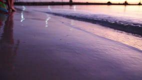 Passeio no mar da manhã vídeos de arquivo