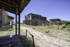 Passeio ocidental velho do estúdio do filme da cidade Imagem de Stock
