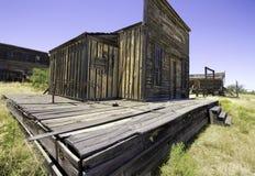 Passeio ocidental velho do estúdio do filme da cidade Foto de Stock Royalty Free