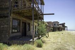 Passeio ocidental velho do estúdio do filme da cidade Fotos de Stock