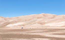 Passeio para as grandes dunas de areia Imagem de Stock Royalty Free