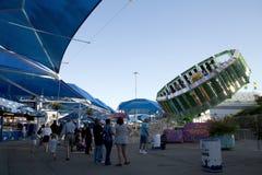 Passeios do divertimento na feira do estado de Texas fotos de stock royalty free