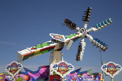 Passeios do divertimento no parque justo de Dallas foto de stock royalty free