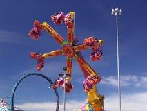 Passeios do parque de diversões Imagens de Stock Royalty Free