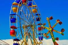 Passeios justos do carnaval do estado imagem de stock royalty free