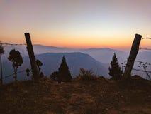 Passeios na montanha de exploração em Meghalaya Fotografia de Stock Royalty Free