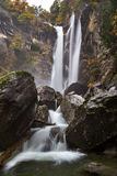 Passeirer waterfall. Near St. Martin, South Tyrol Royalty Free Stock Photos