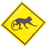 Passen Sie vom Affezeichen auf Lizenzfreie Stockfotografie