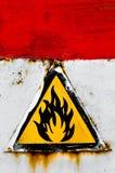 Passen Sie vom Feuerzeichen auf Stockbilder