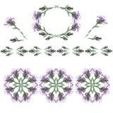 passend für verschiedene Designe und das Scrapbooking Blumenauslegung? Hintergrund, Hintergrund, Auslegung der Abbildung Muster 0 Stockbilder