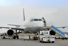 Passendger-Flugzeuge Lizenzfreies Stockbild