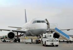 Passendger flygplan Royaltyfri Bild