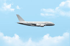 Passenger Air Plane Flying Stock Image