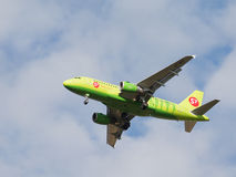 Passenger Airbus A319-114 S7 Airlines Royalty Free Stock Photography