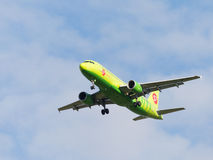 Passenger Airbus A320-214 S7 Airlines Royalty Free Stock Images