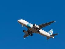 Passenger aircraft Airbus A320, Stock Image