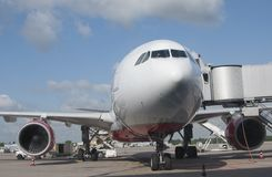 Passenger aircraft Stock Photography