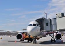 Passenger aircraft Royalty Free Stock Image