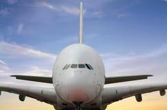 Passenger aircraft Stock Image