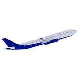 Passenger aircraft vector Stock Photo