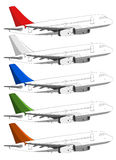 Passenger Aircrafts Royalty Free Stock Photo