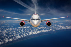 Passenger Airliner Stock Photography