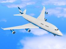 Passenger airplane Royalty Free Stock Images