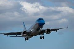 Passenger airplane Stock Image