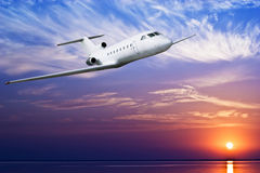 Passenger airplane Royalty Free Stock Image