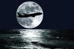 Passenger airplane Stock Photos
