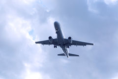 Passenger airplane Stock Photography