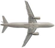 Passenger airplane isolated on the white background Stock Image