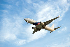 Passenger airplane Royalty Free Stock Photography