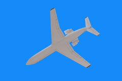 Passenger airplane. Royalty Free Stock Image