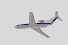 Passenger airplane. Royalty Free Stock Images