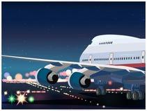 Passenger Airplane Taking Off Royalty Free Stock Image