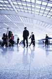 Passenger in airport Royalty Free Stock Image