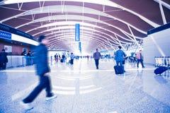 Passenger in airport Stock Image