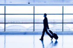 Passenger in airport Stock Photos