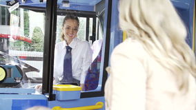 Passenger Avoiding Paying Whilst Boarding Bus